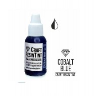 Краситель непрозрачный для смолы и полимеров CraftResinTint, синий кобальт, 10 мл