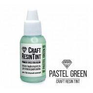 Краситель непрозрачный для смолы и полимеров CraftResinTint, Пастельный зеленый, 10мл