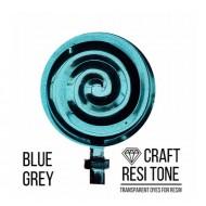 Прозрачный краситель для эпоксидной смолы CraftResinTint, Серо-голубой, 10 мл
