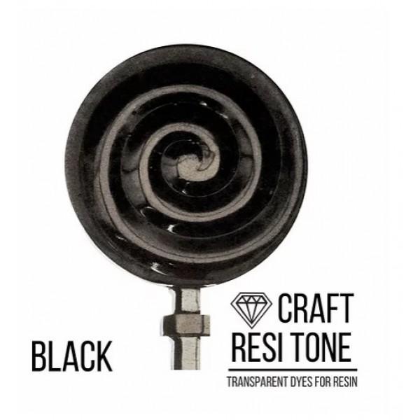 Прозрачный краситель для эпоксидной смолы CraftResinTint, Черный, 10 мл
