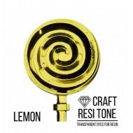 Прозрачный краситель для эпоксидной смолы CraftResinTint, Лимонный, 10 мл