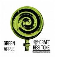 Прозрачный краситель для эпоксидной смолы CraftResinTint, Зеленое яблоко, 10 мл