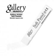 Сухая пастель мягкая профессиональная квадратная, MUNGYO Gallery цвет № 001, белый