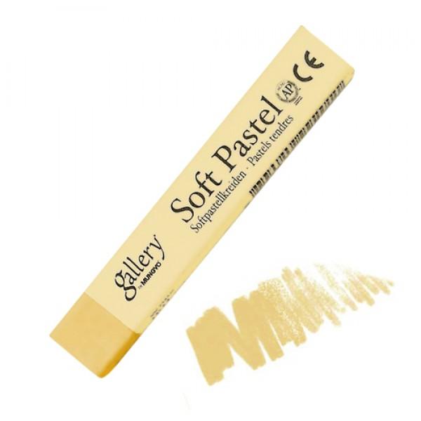 Сухая пастель мягкая профессиональная квадратная, MUNGYO Gallery цвет № 004, золотистая охра