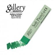 Сухая пастель мягкая профессиональная квадратная, MUNGYO Gallery цвет № 026 темный фталевый зеленый