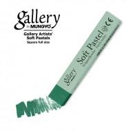 Сухая пастель мягкая профессиональная квадратная, MUNGYO Gallery цвет № 031 зеленый можжевельник