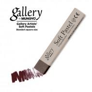 Сухая пастель мягкая профессиональная квадратная, MUNGYO Gallery цвет № 070 коричневый
