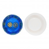 "Молд для эпоксидной смолы "" Пепельница"", размер наружный диаметр 10,6х3 см арт. 0068"