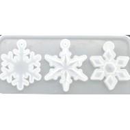"""Молд для эпоксидной смолы """" Снежинка"""", размер 15х7 см арт. dyyy111"""