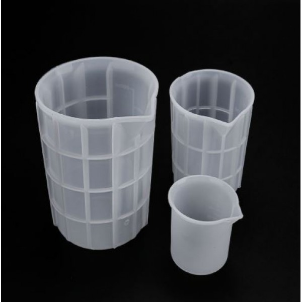 Силиконовый стакан для замешивания смолы, 300мл, 1 шт.