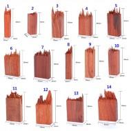 Деревянная заготовка для заливки эпоксидной смолой,  цвет: красное дерево