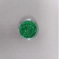 Глиттер для декора, мелкая фракция, цвет: зеленый, 6 гр