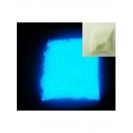 Люминофорная (светящаяся) крошка 10 гр, цвет: синий, размер 1 - 3 мм