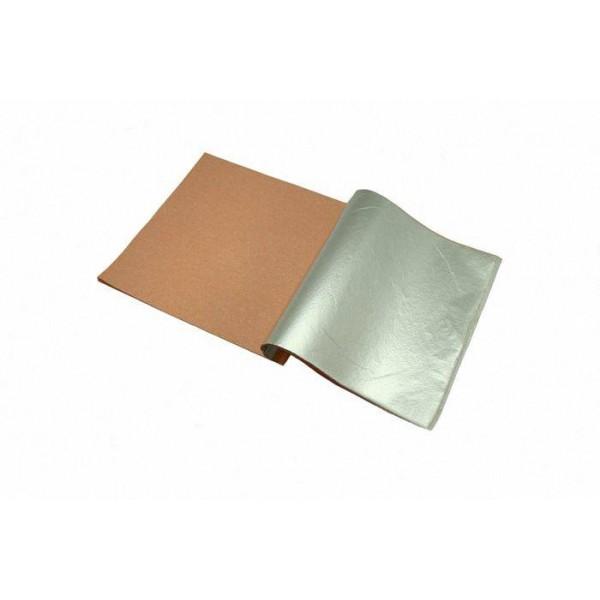 Поталь утолщенная, размер листа 14х14 см, цвет серебро, упк. 10 листов