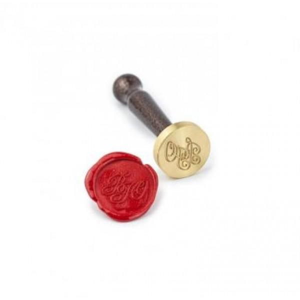 Сургуч с фитилем, цвет - красный, длина 90 мм