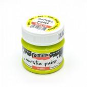 Краска Pentart матовая акриловая лайм, 50мл арт. 1311