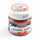 Краска Pentart матовая винтаж сиреневый, 50мл арт. 20984