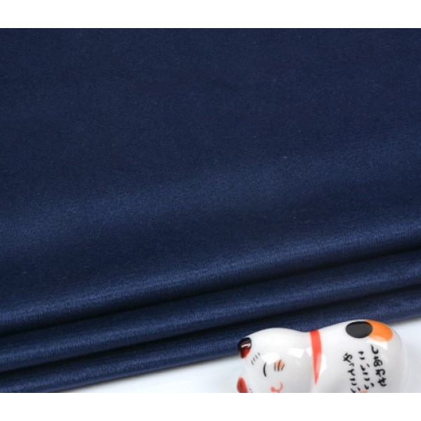 Бархатная ткань, пл.230 гр, р-р 35х50 см, цвет: синий