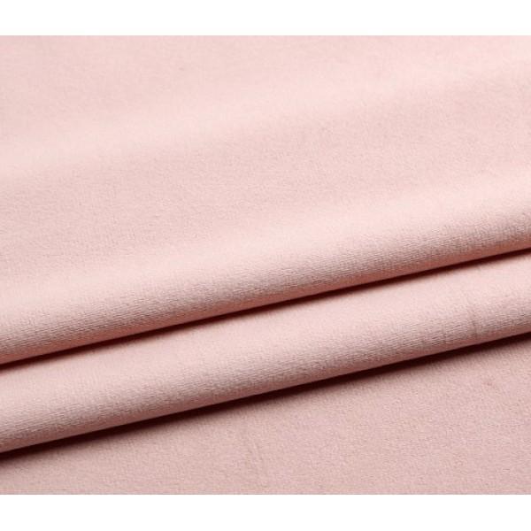 Бархатная ткань, пл.230 гр, р-р 35х50 см, цвет: пудра