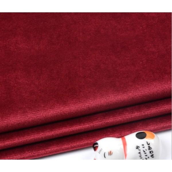 Бархатная ткань, пл.230 гр, р-р 35х50 см, цвет: красное вино