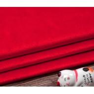 Бархатная ткань, пл.230 гр, р-р 35х50 см, цвет: красный