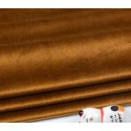 Бархатная ткань, пл.230 гр, р-р 35х50 см, цвет: коричневый