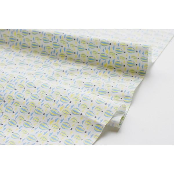 """Ткань хлопок DailyLike """"Воздушные шары"""", ширина 110 см, плотность 165 г.м арт. 05"""