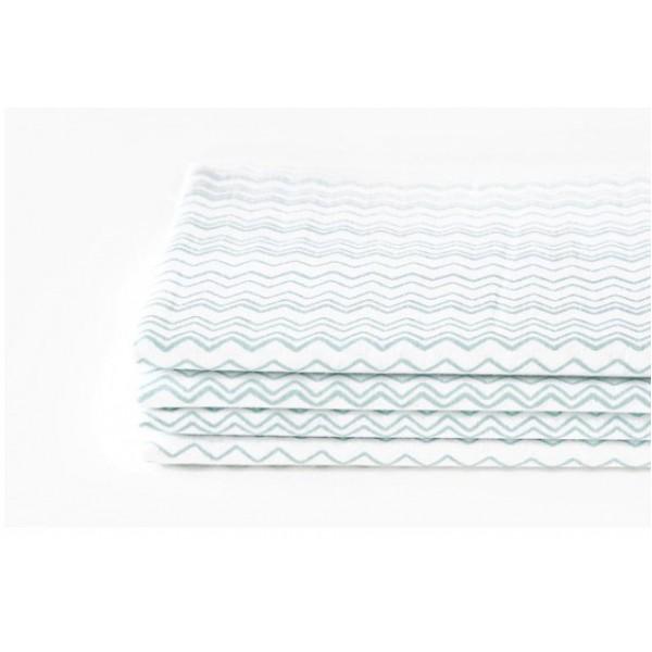 "Ткань хлопок DailyLike ""Волна"", ширина 110 см, плотность 120 г.м арт.124"