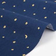 Ткань хлопок DailyLike, ширина 110 см, плотность 120 г.м арт. 302 Ночное небо