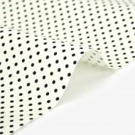 """Ткань хлопок DailyLike """"Cream dot"""",  ширина 110 см, плотность 165 г.м арт. 453"""