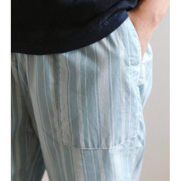 """Ткань хлопок DailyLike """"Нежные голубые полоски"""", ширина 110 см, плотность 165 г.м арт. 466"""