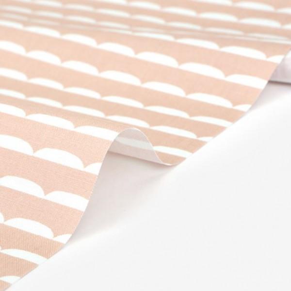 """Ткань хлопок DailyLike  """"Розовые волны"""", ширина 110 см, плотность 120 г.м арт. 492"""