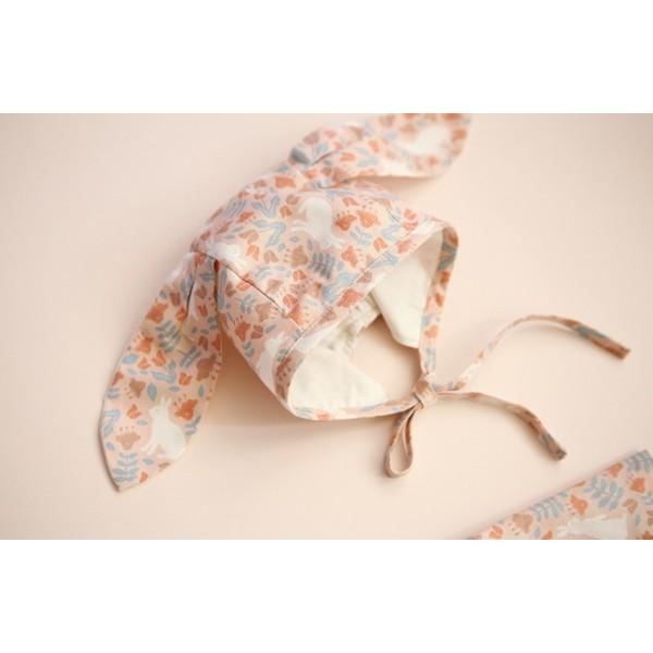 """Ткань хлопок DailyLike """"Кролики в саду"""", ширина 110 см, плотность 165 г.м арт. 570"""