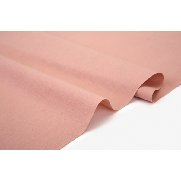 """Ткань хлопок DailyLike """"Теплый розовый"""", ширина 160 см, плотность 165 г.м арт. 600"""
