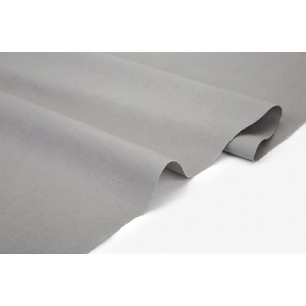 "Ткань хлопок DailyLike ""Серый светлый"", ширина 160 см, плотность 165 г.м арт. 601"