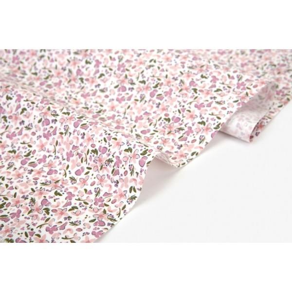 """Ткань хлопок DailyLike """"Весенние цветы"""", ширина 110 см, плотность 165 г.м арт.625"""