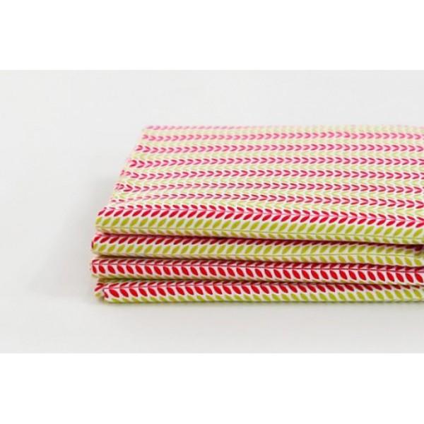 """Ткань хлопок DailyLike """"Розово -золотые полоски"""", ширина 110 см, плотность 165 г.м арт. 35"""