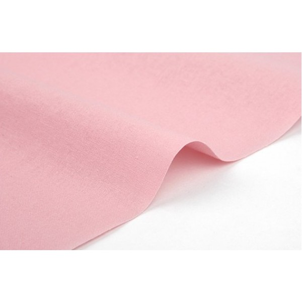 "Ткань хлопок DailyLike ""Розовый однотонный"", ширина 110 см, плотность 165 г.м арт. 223"