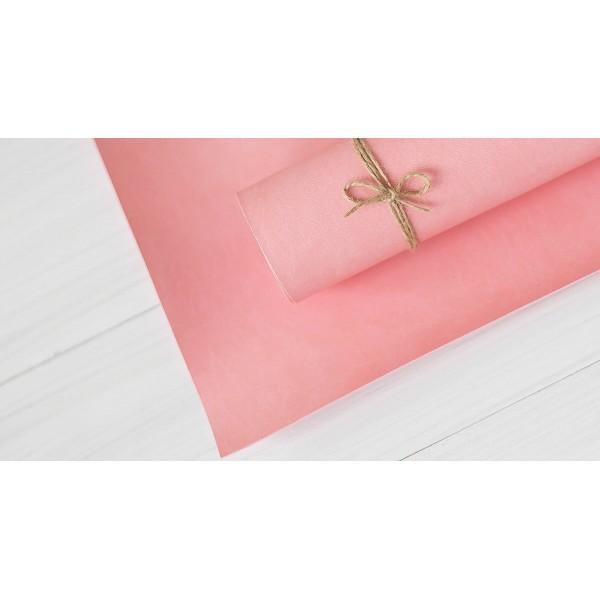 Переплетный кожзам (Италия), цвет розовый
