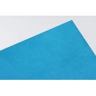 Переплетный кожзам (Италия), цвет ярко - голубой, арт. F003
