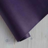Переплетный кожзам (Италия), цвет: темно-фиолетовый