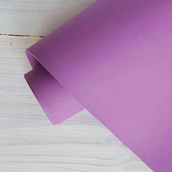 Переплетный кожзам (Италия), цвет: ягодный
