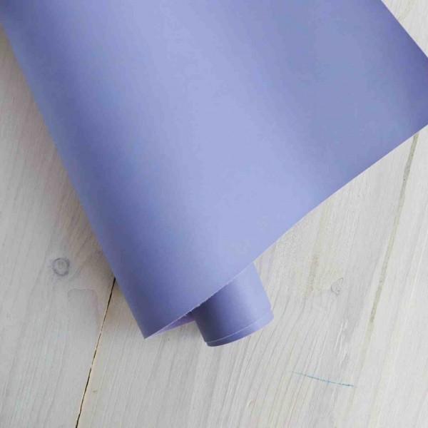 Переплетный кожзам (Италия), цвет: сиреневый