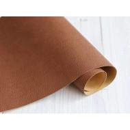 Переплетный кожзам, тиснение кожа, цвет: коричневый, арт. armonia_2