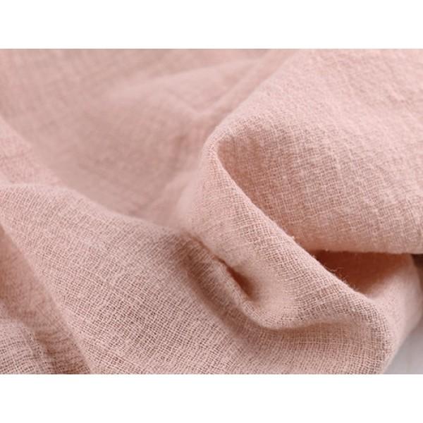 Лён тонкий, пл.120 гр, р-р:30х50 см, цвет: пыльная роза