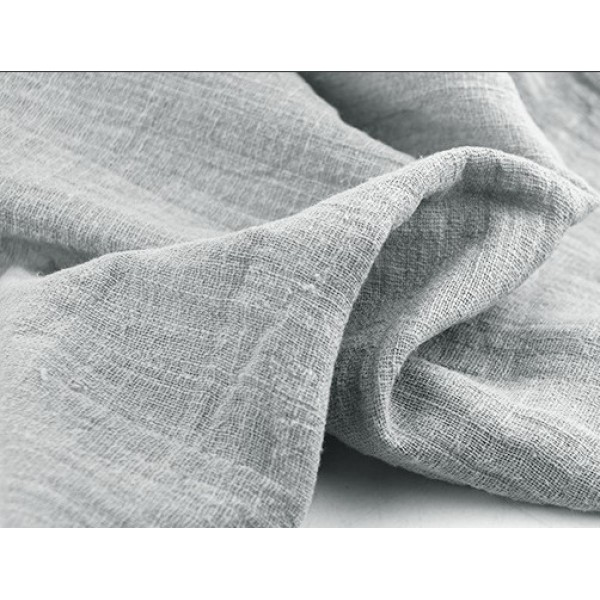 Лён тонкий, пл.120 гр, р-р:30х50 см, цвет: серый
