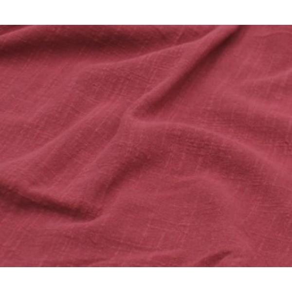 Лён тонкий, пл.120 гр, р-р:30х50 см, цвет: коралловый