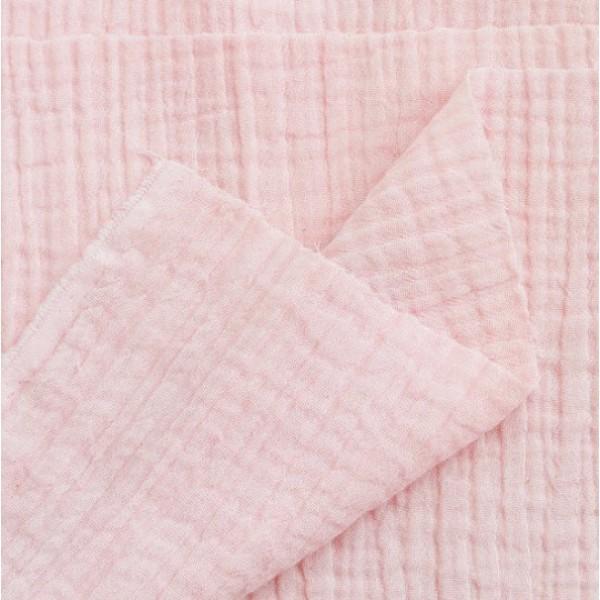 Муслин хлопок, цвет светлый розовый арт. mus05