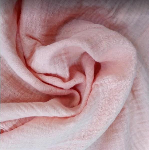 Муслин хлопок, цвет теплый розовый арт. mus05