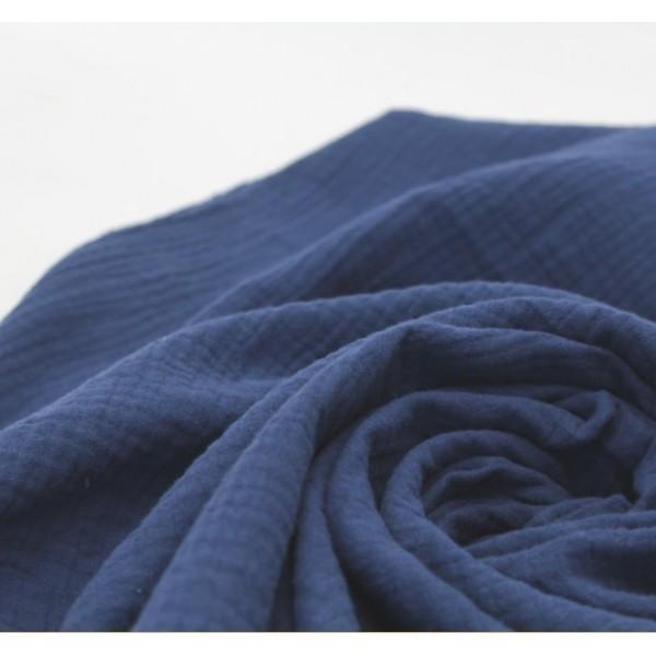 Муслин хлопок, цвет синий арт. mus31